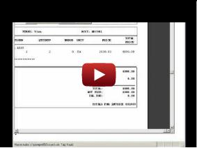Video - Invoicing module